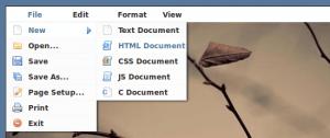 JQuery меню в стиле приложений для десктопа