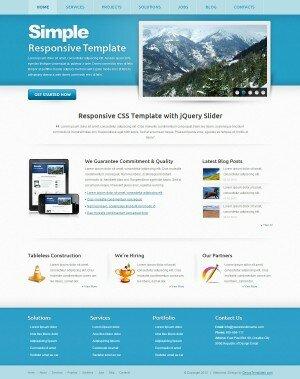 HTML5 шаблоны - Simple