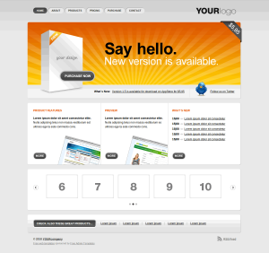 HTML шаблон для сайта gr8!