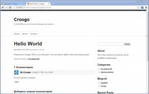 Croogo или WordPress