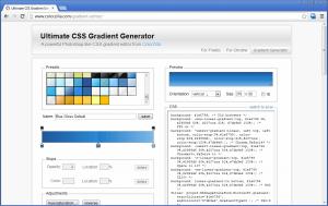 Генератор CSS градиента