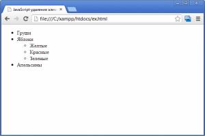 Ненумерованные списки в HTML