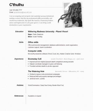 HTML шаблон OnePageResume