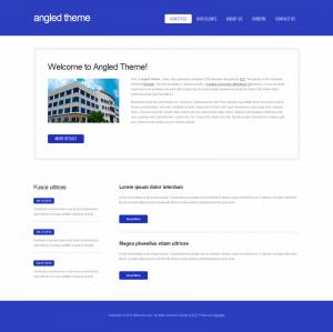 HTML шаблон для сайта Angled-Theme