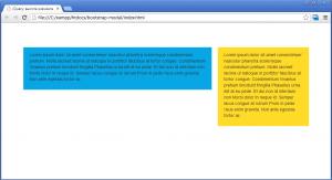 HTML: высота блоков по умолчанию