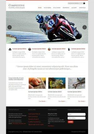 HTML шаблон Complective