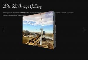 3D галерея на JQuery
