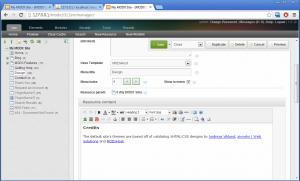 MODX Evoltuion 1.0.12 TinyMCE MODxRE