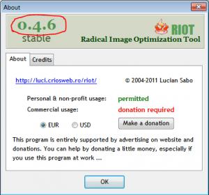 Схема нумерация версий программы