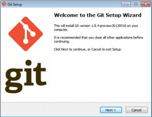 Установка Git на Windows 7 - 1