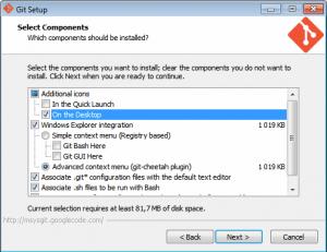Установка Git на Windows 7 - 4