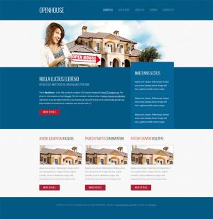 HTML шаблон OpenHouse