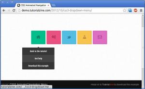 Выпадающее меню на CSS3
