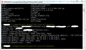 Клонирование Git-репозитория